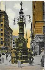 Lotta's Fountain Geary Kearney Market San Francisco CA postally used in 1917
