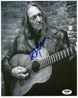 Willie Nelson Signed Autographed 8x10 Photo PSA/DNA COA