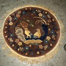 New listing Round Chinese Oriental Rug / Mat