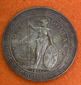 1911 - GREAT BRITAIN ( HONG KONG ) TRADE ONE DOLLAR