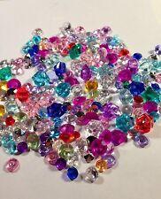 200 Pc Assorted Size And Color Diamond Shape Confetti 2-10mm