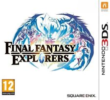 FINAL FANTASY EXPLORERS JEU 3DS NEUF