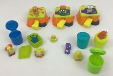 Launchers The Trash Pack Moose 18pc Lot Toys with Accessories Squishy Figures