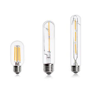 Edison Filament Vintage Light Bulb T45/T10/T185 Decorative Warm LED E27