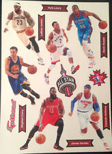 2015 NBA All Star Game Toronto FATHEAD Set LEBRON, STEPHEN CURRY, DURANT, HARDEN