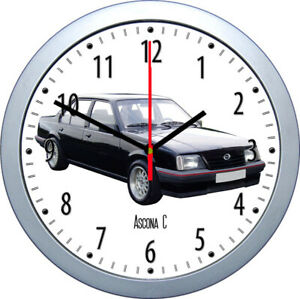 Wall Clock With Car Motif : Brand O Part 1/3 Classic US SUV Coupe Caravan