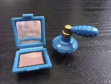 Barbie Accessories Makeup Compact Perfume Parfum Bottle My Scene Doll Diorama