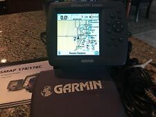 "Garmin GPSMAP 178c 4.5"" COLOR GPS Map Marine Chartplotter w/Fishing Sounder"