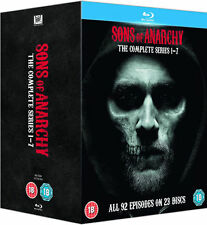 Sons of Anarchy - The Complete Series 1-7 (Blu-ray) NEW!! Seasons 1 2 3 4 5 6 7