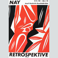 Ernst Wilhelm Nay. Retrospektive. Josef-Haubrich-Kunsthalle Köln 1991