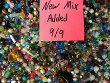 ~100~ Piece Glass Loose Beads Bulk Mixed Lot Craft Jewelry Grab Bag! *Free Gift*