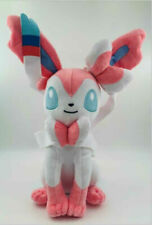 "Pokemon Eevee Sylveon Plush Doll Stuffed Animal Figure Soft Toy Gift 8""In 20CM"