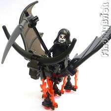 C612 Lego Custom Skeleton Dragon Horse & Death Knight Custom Minifigure - NEW