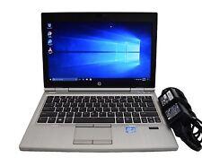 "HP EliteBook 2570p Ordinateur Portable i5-3210M 2.5GHz 4 Go RAM 128 Go SSD Webcam Win 8.1 12.5"""