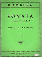 Cello Sonata Classical Sheet Music & Song Books