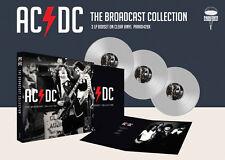 AC/DC New Sealed 2019 LIVE CONCERT 3 CLEAR VINYL RECORD BOXSET