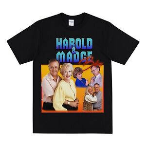 HAROLD & MADGE BISHOP Homage T-shirt - Vintage Neighbours Tshirt Top Funny Tee