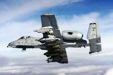 New 5x7 USAF Photo: Fairchild-Republic Fully Loaded A-10 Thunderbolt II Fighter