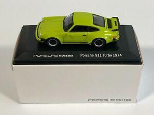 WELLY MAP01993114 Porsche 911 Turbo Vert 1974 Porsche Museum 1/43 Miniature