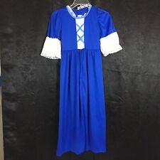 Forum Novelties girl costume Dress Princess Medium Royal Blue  Dress up