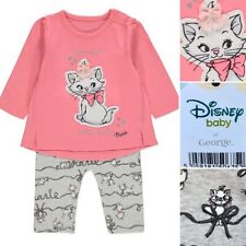 George THE ARISTOCATS  MARIE Baby Girls Outfit Set Clothes - 3-6 Months - New!