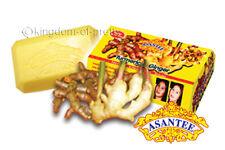 3x ASANTEE Turmeric Ginger Honey Soap Skin Lightening Collagen Anti Acne 125g