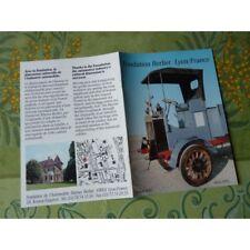 camion Fondation Berliet Lyon, catalogue brochure