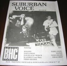 SUBURBAN VOICE #31 1991 - Hardcore Fanzine