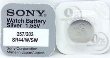 3 V Silver Oxide SR44 Single Use Batteries
