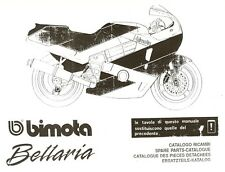 CATALOGO RICAMBI BIMOTA YB9 BELLARIA COPY SPARE PARTS CATALOGUE MULTILANGUAGES