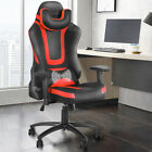 Gaming+Chair+Ergonomic+Office+Computer+Racing+Lumbar+Massage+Recliner+Swivel+PU