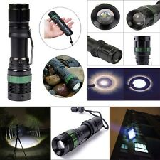 Super Bright 4000 Lumen 3 Modes CREE XM-L Q5 LED Zoomable Flashlight Torch Lamp