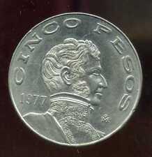 MEXIQUE 5 pesos 1977