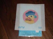 Good Fairy Works by DeDe Handpainted Sailor Duck Needlepoint Canvas & Chart NEW