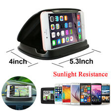 "Car Dashboard GPS Navigation Anti-Slip Silicone Mobile Phone Holder Mount 3-6"""