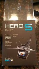 GoPro Hero 5 Black Ultra HD 4k Action Camera w/accessory package case