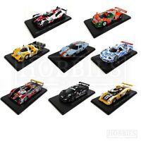 Le Mans Diecast Car Models 1/43 Scale Toyota Porsche Ford GT40 Nissan Audi R10