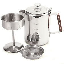 Norpro 549 Stainless Steel Percolator Coffee Pot 9 Cup