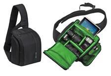 RivaCase 7470 Schutz Hülle Tasche Bag in Schwarz für Olympus OM-D E-M1 Mark II