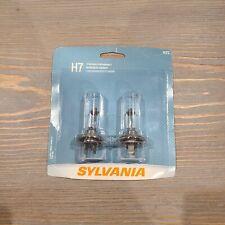 Sylvania H7 Standard 3100K Performance - 2 Halogen Headlight Lamp Bulbs NEW NIB