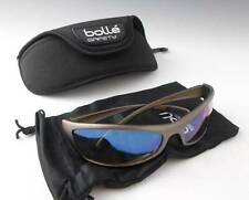 BOLLE Spider ESP Clear Lens Light Enhancing Sports Safety Sunglasses + Hard Case
