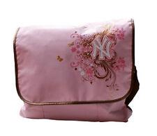 Ny yankees mensajero bolso rosa nuevo con factura