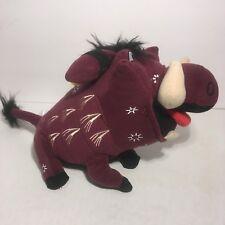 "The Lion King Pumbaa Broadway Musical Plush Stuffed Animal 8"""
