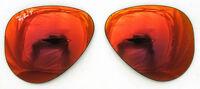 Verres Rechange ray ban 8041 58 4D Red Miroir Verres Polarized Rouge Polarisé