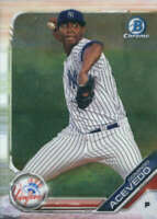 Domingo Acevedo 2019 Bowman Chrome Prospects #BCP-34 Yankees