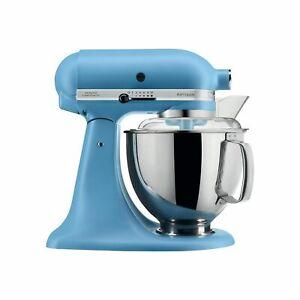 Brand new  KitchenAid 5-qt Artisan Stand Mixer ksm150psvb blue velvet Rare