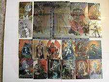 Lady Death 4 Wicked Ways Chromium 90 card Set by Krome Productions 1997