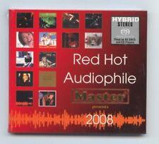 """Red Hot Audiophile 2008"" Master Music Stereo Hybrid SACD CD Brand New Sealed"