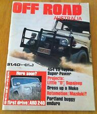 Off Road Australia April 1977 - 454 V8 Toyota