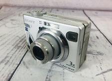 Sony Cyber-shot DSC-W7 7.2MP Digital Camera Silver Tested (m